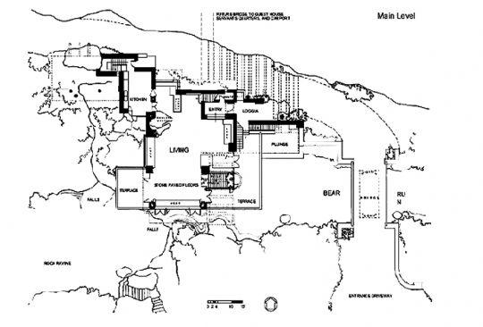 流水别墅平面设计图.